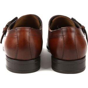 Giorgio Scandicci Schoen Bruin Monk Strap  - Bruin - Size: 42