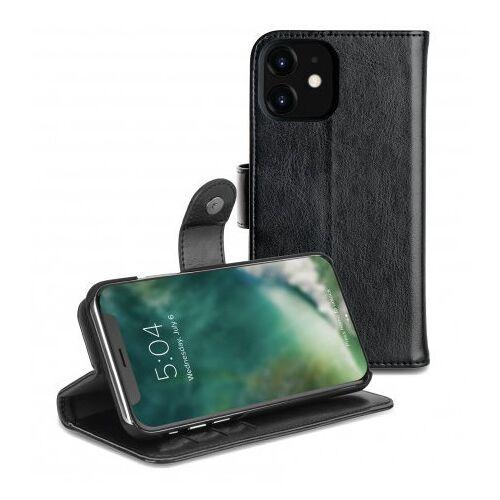Xqisit Wallet Eman 2 In 1 IPhone 11 Wallet Hoesje Zwart