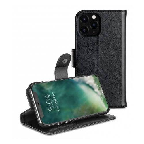 Xqisit Wallet Eman 2 In 1 IPhone 11Pro Max Hoes Zwart