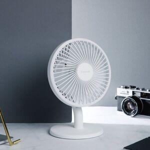 Baseus Ocean Fan Oplaadbare USB Ventilator Wit   Appelhoes, dé specialist voor al je apple producten