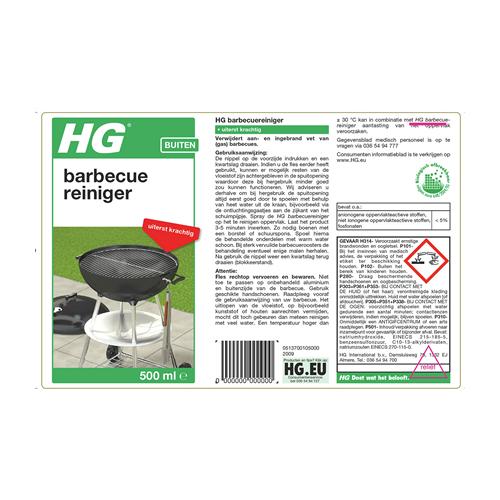 HG Barbecue Reiniger