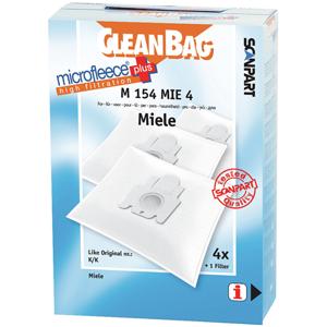 Scanpart Cleanbag stofzuigerzak fleece (doos) type K