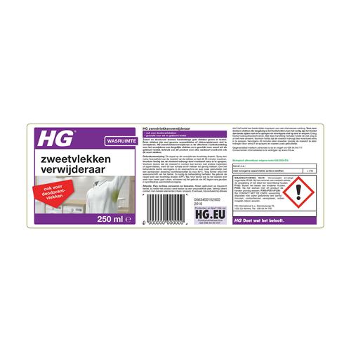 HG Zweet- En Deodorantvlekken Verwijderaar