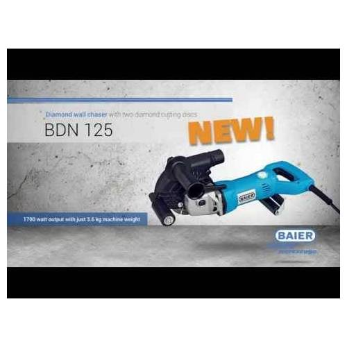 Baier BDN125 Sleuvenzaagmachine 125 mm 1700 watt