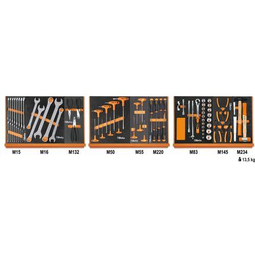 Beta 5904 VG/1M assortiment van 76 gereedschappen
