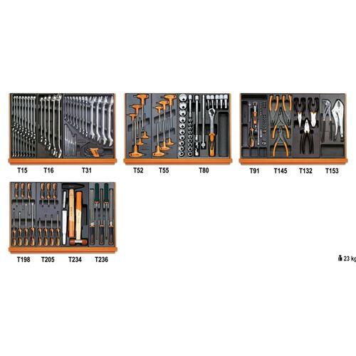 Beta 5904 VU/3T assortiment van 146 gereedschappen