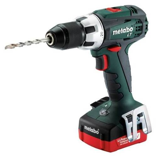 Metabo BS14,4LT Compact Accuschroefboormachine 14,4V 2.0 Ah Li-Ion