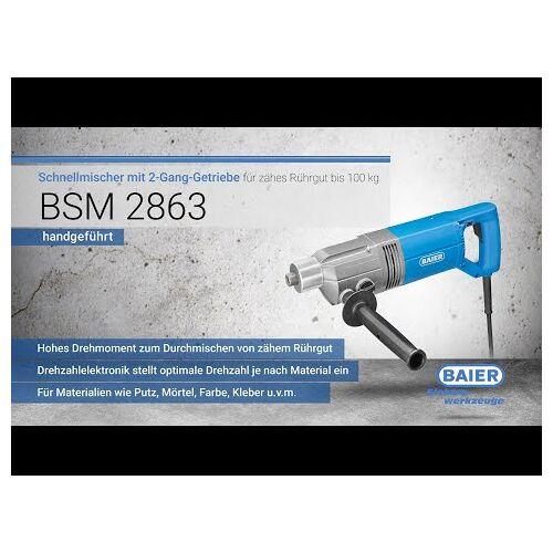 Baier BSM2842 Mengmachine 1400 Watt