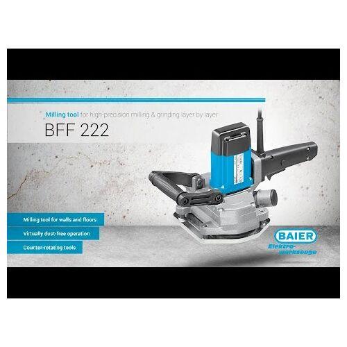 Baier 55327 diamant slijpschoen set voor de BFF 222