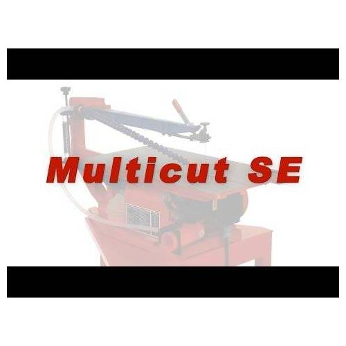 Hegner Multicut MC SE figuurzaagmachine toerental geregeld