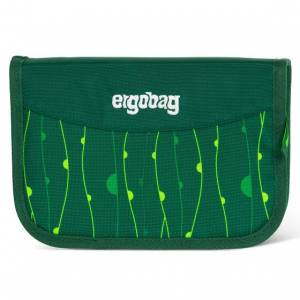 ergobag School pennenetui 22pc. rambazambär grüne lianen