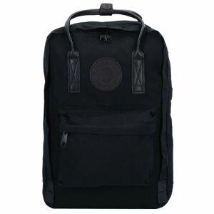 Fjällräven Kanken No.2 Laptop 15 Black Rugzak 38 cm laptopvak Black
