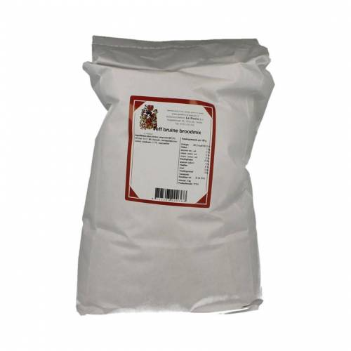 Le Poole Teff Bruine Broodmix 5kg