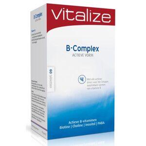 Vitalize B-Complex Actieve Vorm Tabletten