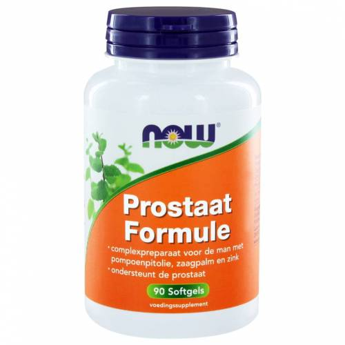 NOW Prostaat Formule Capsules 90st
