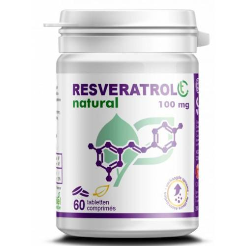 Soria Natural Resveratrol 100mg