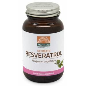 Mattisson HealthStyle Ultimate Resveratrol 98%