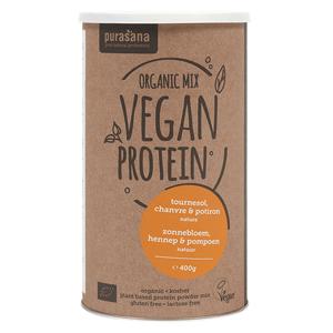 Purasana Organic Mix Vegan Protein Naturel