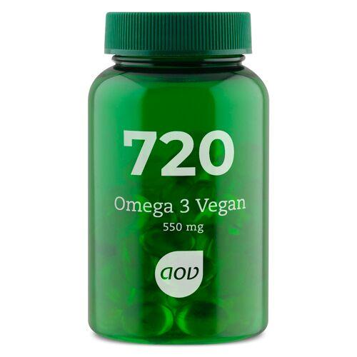 AOV 720 Vegetarische Omega 3 Softgels 60st