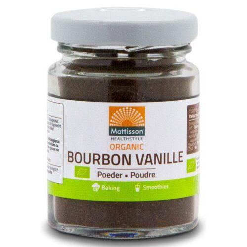 Mattisson HealthStyle Organic Bourbon Vanille Poeder