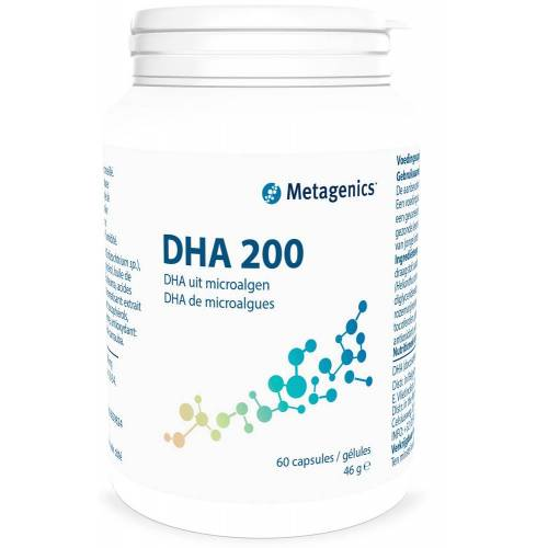 Metagenics DHA 200 Capsules