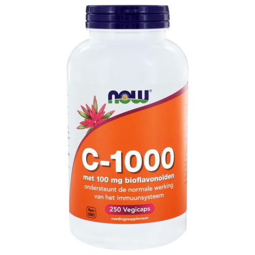 NOW C-1000 met 100mg Bioflavonoïden Capsules