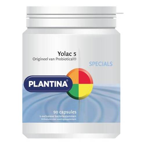 Plantina Specials Yolac 5 Capsules