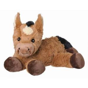 WellieBellies Magnetronknuffel Paard Groot 30-35cm