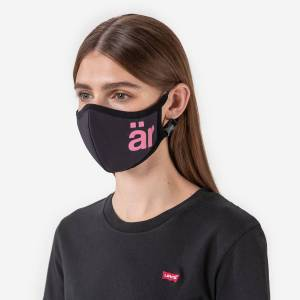 ar facemask Self-cleaning Face mask with Nano-Filter är Big logo Pink
