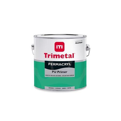 Trimetal Permacryl PU Primer - Wit - 2,5 l