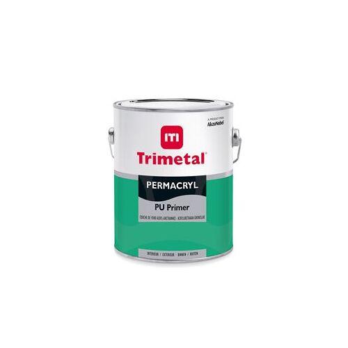 Trimetal Permacryl PU Primer - Wit - 1 l