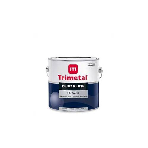 Trimetal Permaline PU Satin - Wit - 2,5 l