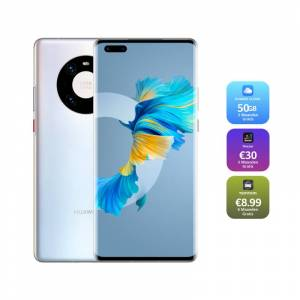 Huawei Mate 40 Pro - 5G - Smartphone 256GB - 8GB RAM- Dual Sim - 6,76 Inch - Mystic Silver