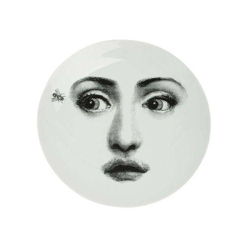Fornasetti afdrukplaat voor portret en vlieg - Zwart