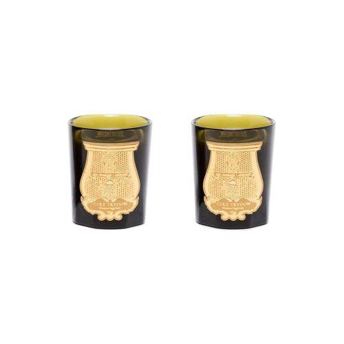Cire Trudon Set van twee geurkaarsen - Zwart
