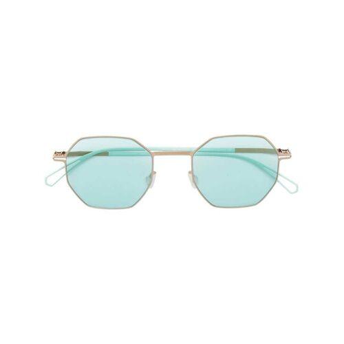 Mykita zeshoekige zonnebril - Groen