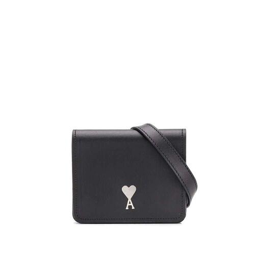 AMI Paris Accordeon kleine tas - Zwart