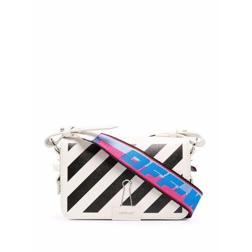 Off-White Diag tas met omslag - Wit