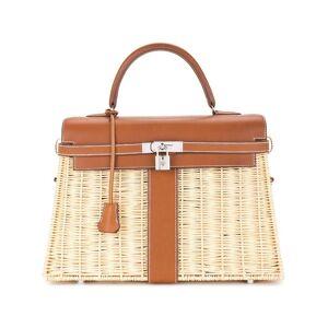 Hermès Pre-owned Kelly picknicktas - Bruin