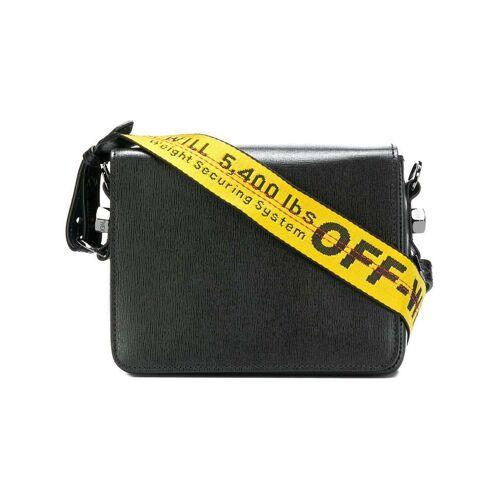 Off-White Binder Clip tas - Zwart