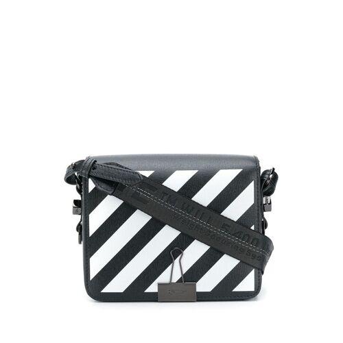 Off-White Tas met binder - Zwart