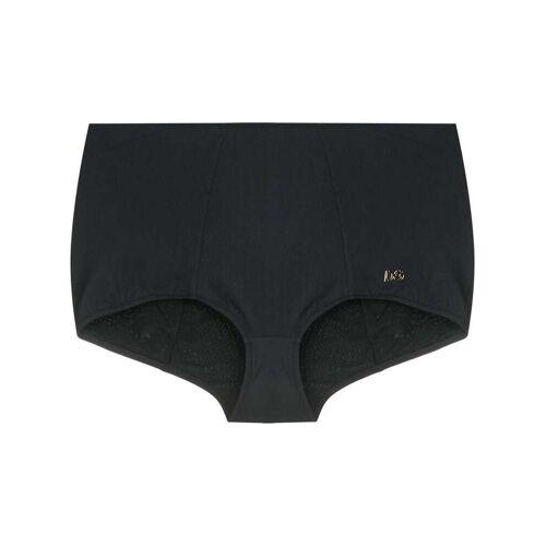 Dolce & Gabbana Bikinibroek met hoge taille - Zwart