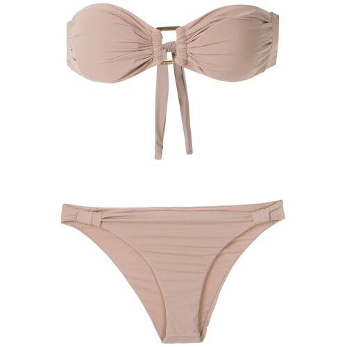 Amir Slama Bandeau bikini - Nude