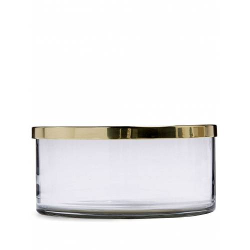 AYTM Glazen pot - Goud