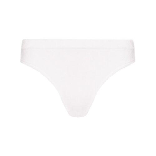 Frankies Bikinis Bikinitop met tie-dye print - Wit