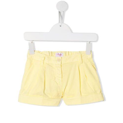 Il Gufo Shorts met opgerolde zoom - Geel