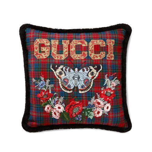 Gucci Wollen kussen - Zwart