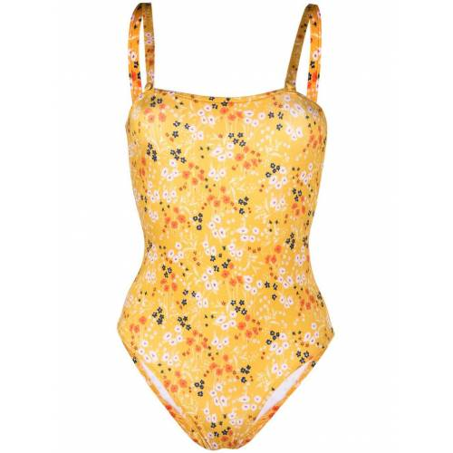 L'Autre Chose Bandeau bikini - Geel