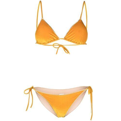 BIKINI LOVERS Fluwelen bikini - Geel