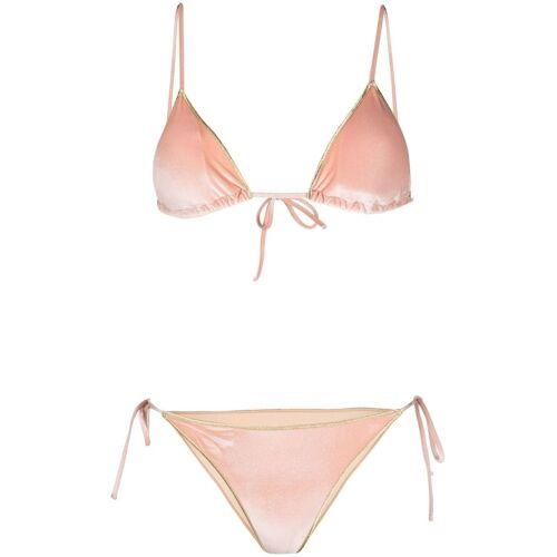 BIKINI LOVERS Fluwelen bikini - Roze